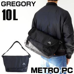 GREGORY グレゴリー METRO PC メトロ MESSENGER メッセンジャー バッグ メンズ 黒 ブラック カジュアル 65113-1041 海外モデル|tokeiten