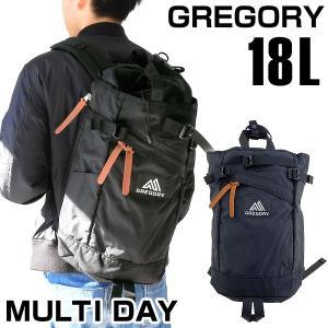 GREGORY グレゴリー MULTI DAY マルチデイ 18L メンズ バッグ バックパック 黒 ブラック カジュアル 76139-1041 海外モデル|tokeiten