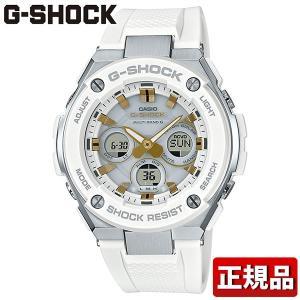 G-SHOCK Gショック CASIO カシオ タフソーラー GST-W300-7AJFGスチール アナログ デジタル メンズ 腕時計 国内正規品 白 ホワイト ウレタン|tokeiten