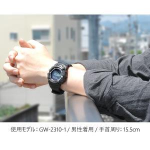 G-SHOCK Gショック CASIO カシオ ジーショック 電波ソーラー gショック 黒 メンズ 腕時計 GW-2310-1 BASIC|tokeiten|02