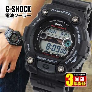 G-SHOCK 電波 ソーラー Gショック ジーショック カシオ CASIO SOLAR 黒 腕時計 メンズ 時計 GW-7900-1 逆輸入|tokeiten