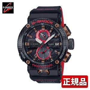 G-SHOCK Gショック CASIO カシオ タフソーラー 電波 GWR-B1000X-1AJR GRAVITYMASTER アナログ メンズ 腕時計 国内正規品 黒 ブラック 赤 レッド ウレタン|tokeiten
