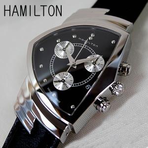 ハミルトン HAMILTON ベンチュラ MIB クロノグラフ 腕時計 メンズ ハミルトン H24412732|tokeiten