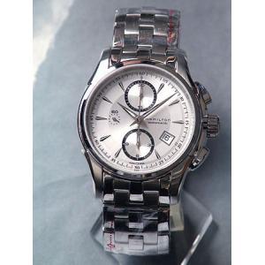 ハミルトン HAMILTON 腕時計 ジャズマスター クロノグラフ 自動巻き H32616153|tokeiten