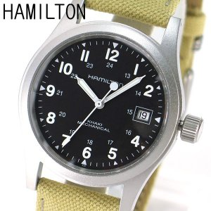 BOX訳あり HAMILTON ハミルトン Khaki カーキフィールドメカ 機会式 手巻き メンズ 腕時計 H69419933 海外モデル|tokeiten