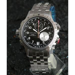 ハミルトン HAMILTON カーキ 腕時計 ETO クロノグラフ メンズ H77612133|tokeiten