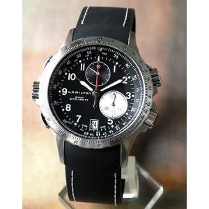 ハミルトン HAMILTON カーキ 腕時計 ETO クロノグラフ メンズ H77612333|tokeiten