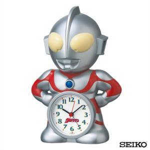先着8%OFFクーポン SEIKO セイコークロック  キャラクター 目ざまし時計 ウルトラマン 国内正規品 キッズ 子供 おしゃべり目覚まし tokeiten