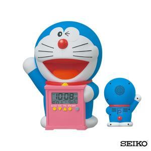 SEIKO セイコークロック キャラクター ドラえもん JF374A 国内正規品 キッズ 子供用 おしゃべり ボイス 目覚まし 目覚し めざまし 置き時計 tokeiten