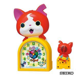 SEIKO セイコークロック  キャラクター 妖怪ウォッチ ジバニャン JF378A 国内正規品 キッズ 子供用 おしゃべり目覚まし 目覚し めざまし 置時計 tokeiten