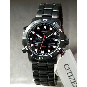 ポイント最大26倍 シチズン CITIZEN 海外モデル 腕時計 メンズ アナログデジタルコンビ JT3039-53E|tokeiten