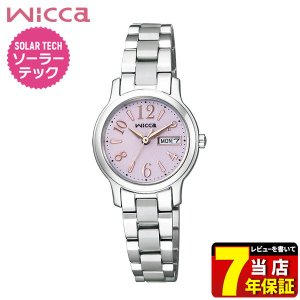 ポイント最大35倍 ポイント最大35倍 シチズン ウィッカ 腕時計 レディース ソーラー かわいい CITIZEN wicca KH3-410-9 国内正規品|tokeiten