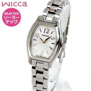 ポイント最大35倍 ポイント最大35倍 シチズン ウィッカ 腕時計 レディース ソーラー かわいい CITIZEN wicca KH8-713-11|tokeiten