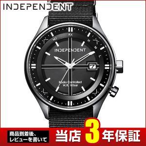 レビュー3年保証 CITIZEN シチズン INDEPENDENT インディペンデント 500本限定 電波ソーラー KL8-619-50 国内正規品 メンズ 腕時計 tokeiten