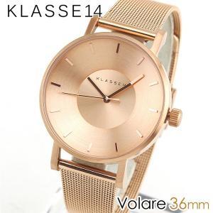 Klasse14 クラス14 KLASSE14 VO14RG003W 海外モデル Volare アナログ レディース 腕時計 ウォッチ 金 ピンクゴールド メタル バンド 36mm|tokeiten