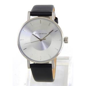 Klasse14 クラスフォーティーン VO14SR001W Volare ヴォラーレ アナログ レディース 腕時計 海外モデル 黒 ブラック 銀 シルバー 革ベルト レザー tokeiten 02