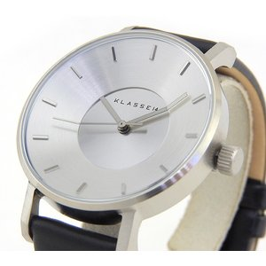 Klasse14 クラスフォーティーン VO14SR001W Volare ヴォラーレ アナログ レディース 腕時計 海外モデル 黒 ブラック 銀 シルバー 革ベルト レザー tokeiten 03