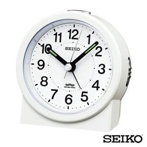 先着8%OFFクーポン SEIKO セイコークロック 目覚まし時計 KR325W tokeiten