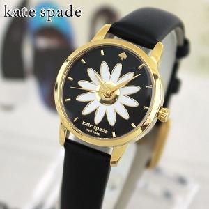 KateSpade ケイトスペード KSW1085 海外モデル METRO MINI メトロ ミニ アナログ レディース 腕時計 ウォッチ ブラック ゴールド 革バンド レザー|tokeiten
