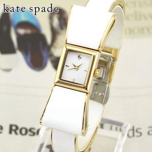 KATE SPADE ケイトスペード KSW1111 海外モデル KENMARE ケンマール アナログ レディース 腕時計 白 ホワイト 金 ゴールド メタル バンド|tokeiten