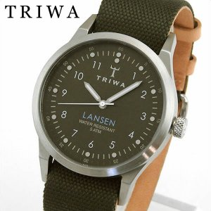 TRIWA トリワ メンズ レディース 腕時計 男女兼用 ユニセックス LANSEN ランセン 緑 グリーン ライトブラウン LAST111-MO063212|tokeiten