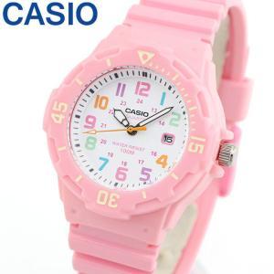 ポイント10倍 メール便で送料無料 CASIO チープカシオ チプカシ スタンダード スポーツ LRW-200H-4B2 ピンク レディース 腕時計カジュアル海外モデル|tokeiten