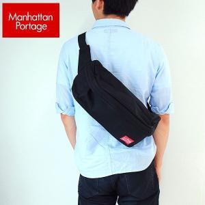 Manhattan Portage マンハッタンポーテージ ウエストポーチ MP1106 WAIST BAG メンズ レディース 男女兼用 かばん カバン 鞄 黒 ブラック|tokeiten
