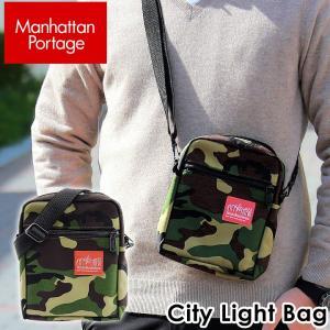 Manhattan Portage マンハッタンポーテージ ショルダーバッグ City Light Bag シティーライツバッグ ユニセックス スモールバッグ Camo カモ 1403CAMO 迷彩|tokeiten