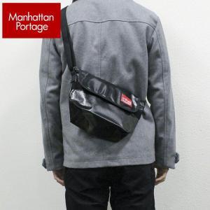Manhattan Portage マンハッタンポーテージ メッセンジャーバッグ メンズ レディース 男女兼用 ショルダーバッグ 防水 ビニール MP1603|tokeiten