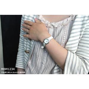 マークバイマークジェイコブス MARC BY MARC JACOBS レディース 腕時計 時計 MBM1234 白 ホワイト|tokeiten|04
