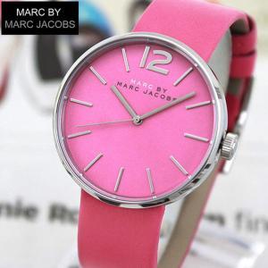MARC BY MARC JACOBS マークバイマーク ジェイコブス MBM1363 海外モデル PEGGY ペギー アナログ レディース 腕時計 ウォッチ ピンク 革バンド レザー tokeiten