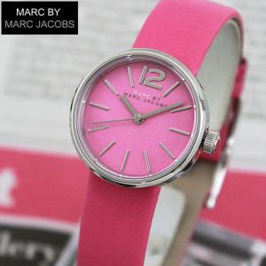 MARC BY MARC JACOBS マークバイマーク ジェイコブス MBM1369 海外モデル PEGGY ペギー アナログ レディース 腕時計 ウォッチ ピンク 革バンド レザー tokeiten