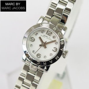 マークバイマークジェイコブス エイミー ディンキー MARC BY MARC JACOBS レディース 腕時計 時計 MBM3225 銀 シルバー 白 ホワイト|tokeiten