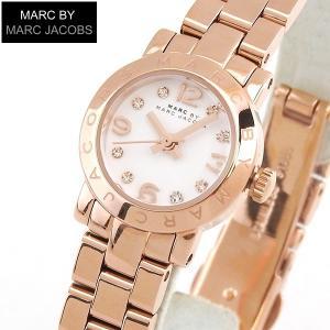 ポイント10倍 マークバイマークジェイコブス エイミー ディンキー MARC BY MARC JACOBS レディース 腕時計 時計 MBM3227 ピンクゴールド 白 ホワイト|tokeiten