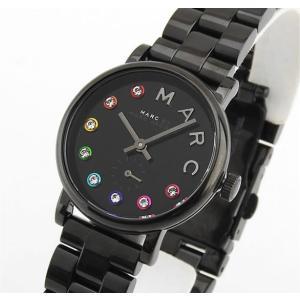 MARC BY MARC JACOBS マークバイマーク ジェイコブス MBM3425 海外モデル Baker ベイカー Glitz グリッツ レディース 腕時計 ウォッチ 黒 ブラック|tokeiten