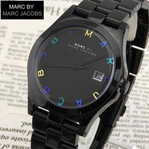 MARC BY MARC JACOBS マーク バイ マーク ジェイコブス mbm8601 海外モデル レディース 腕時計 ブラック メタル tokeiten