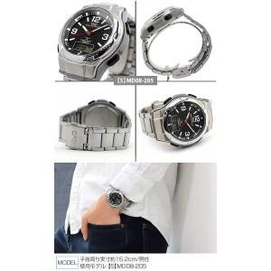 電波時計 腕時計 メンズ シチズン 電波 電波ソーラー CITIZEN ソーラー 防水 MD06-305 MD02-204 正規品|tokeiten|07