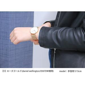 メール便で送料無料 ステンレスメッシュベルト 替えベルト 交換用 18mm 腕時計用 シルバー ピンクゴールド ステンレスメッシュブレスレット tokeiten 05