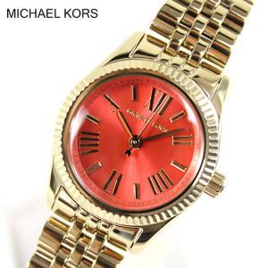 マイケルコース 時計 レディース 人気 MICHAEL KORS 腕時計 時計 MK3284 ゴールド×オレンジ|tokeiten