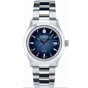 SWISS MILITARY スイスミリタリー 腕時計 新品 時計 ELEGANTエレガント メンズ ブルーML100 ML-100|tokeiten