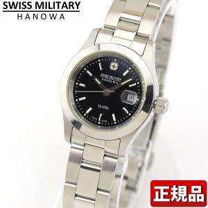 ポイント最大26倍 スイスミリタリー SWISS MILITARY 腕時計 レディース ブラック ML101|tokeiten