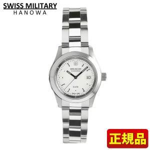 スイスミリタリー SWISS MILITARY 腕時計 レディース ホワイト ML102|tokeiten