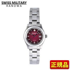 スイスミリタリー SWISS MILITARY 腕時計 レディース ボルドー ML182|tokeiten
