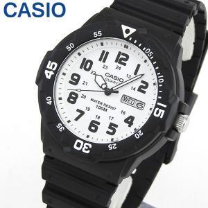 3ヶ月保証 CASIO カシオ チプカシ チープカシオ スタンダード MRW-200H-7B 海外モデル メンズ 腕時計 黒 ブラック 白 ホワイト|tokeiten