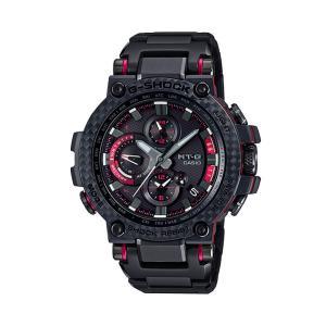 G-SHOCK Gショック CASIO カシオ タフソーラー 電波 MTG-B1000XBD-1AJF モバイルリンク機能 MT-G メンズ 腕時計 国内正規品 黒 ブラック 赤 レッド メタル|tokeiten|02