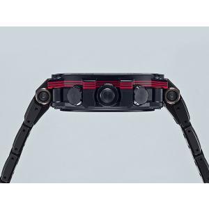 G-SHOCK Gショック CASIO カシオ タフソーラー 電波 MTG-B1000XBD-1AJF モバイルリンク機能 MT-G メンズ 腕時計 国内正規品 黒 ブラック 赤 レッド メタル|tokeiten|03