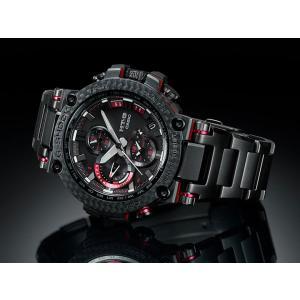 G-SHOCK Gショック CASIO カシオ タフソーラー 電波 MTG-B1000XBD-1AJF モバイルリンク機能 MT-G メンズ 腕時計 国内正規品 黒 ブラック 赤 レッド メタル|tokeiten|04