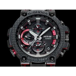 G-SHOCK Gショック CASIO カシオ タフソーラー 電波 MTG-B1000XBD-1AJF モバイルリンク機能 MT-G メンズ 腕時計 国内正規品 黒 ブラック 赤 レッド メタル|tokeiten|05