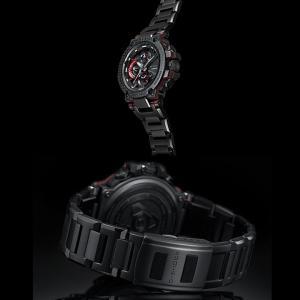 G-SHOCK Gショック CASIO カシオ タフソーラー 電波 MTG-B1000XBD-1AJF モバイルリンク機能 MT-G メンズ 腕時計 国内正規品 黒 ブラック 赤 レッド メタル|tokeiten|06