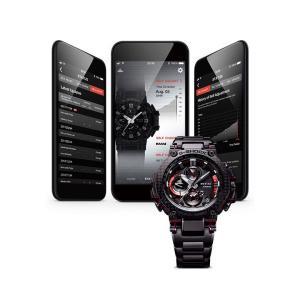 G-SHOCK Gショック CASIO カシオ タフソーラー 電波 MTG-B1000XBD-1AJF モバイルリンク機能 MT-G メンズ 腕時計 国内正規品 黒 ブラック 赤 レッド メタル|tokeiten|07